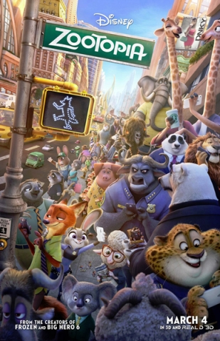 Zootopia from Walt Disney Studios.